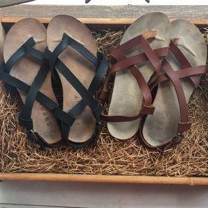 Esprit sandals - 2 pair! Size 6.